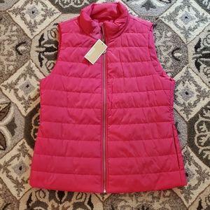 NWT Michael Kors Pink Vest
